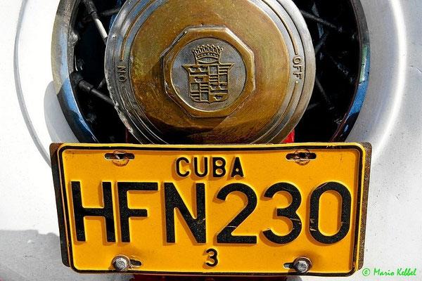 Kubanisches Nummernschild
