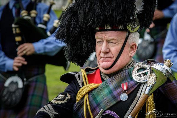 Drum Major Peter MacDonald (Isle of Skye Pipe Band)