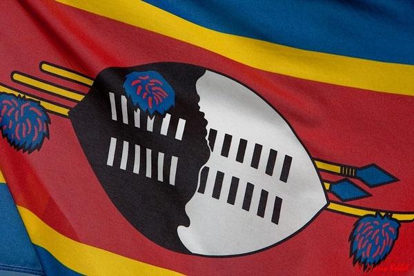 Flagge Szwasiland