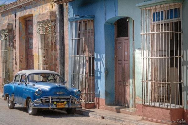 Oldtimer in den Strassen von Trinidad