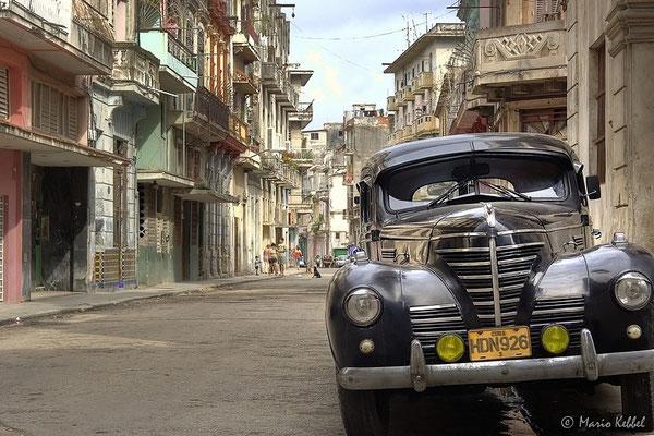 Oldtimer in Centro Habana