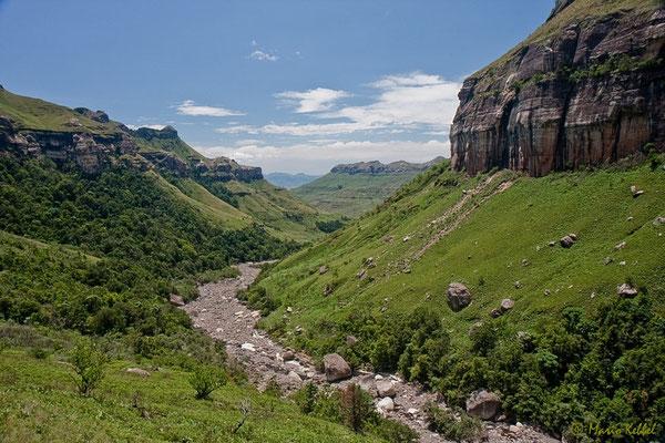 Unterwegs im Royal Natal National Park