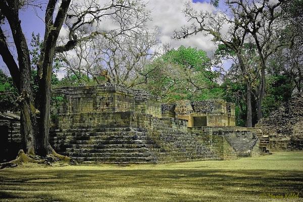 Maya-Ruinen in Copan