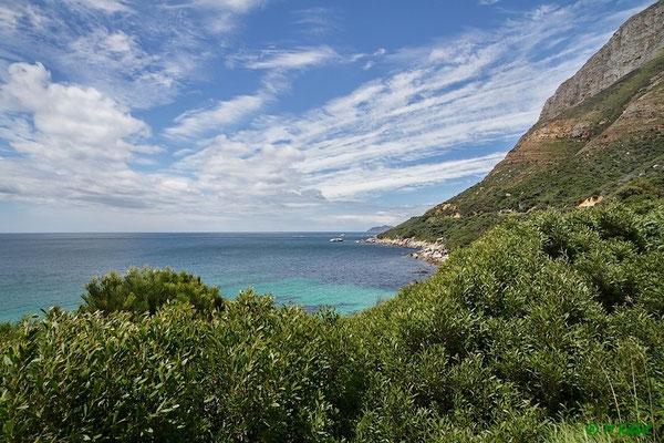 Entlang an der Küste der Kap-Halbinsel