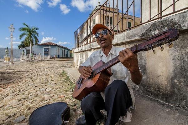 Strassenmusiker in Trinidad