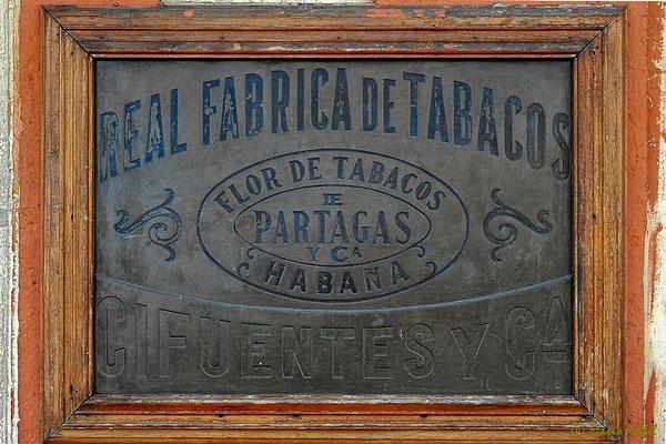 Zigarrenfabrik von Partagas in Havanna