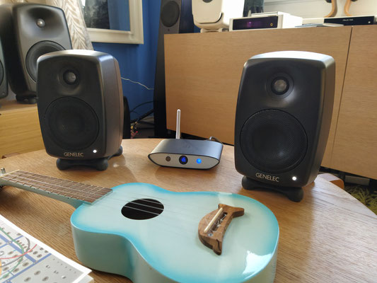 Ifi Audio Zen Blue - Genelec G Two