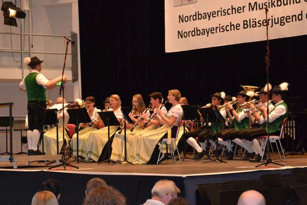 Auftritt der Roßfelder Musikanten