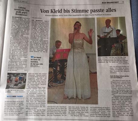 Segeberger Zeitung, 25.4.2017