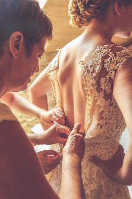 photographe mariage, photo de préparatif de mariée