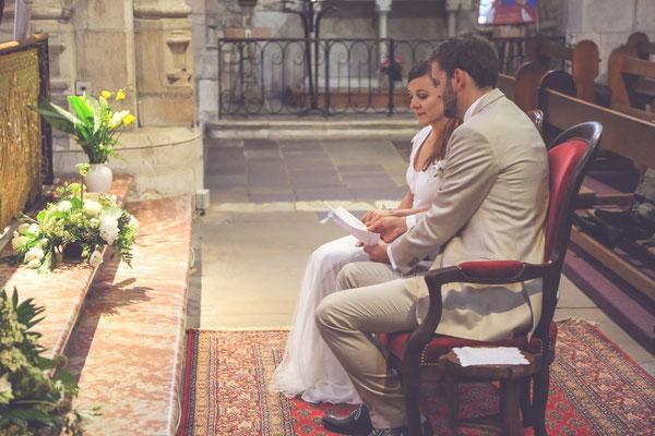 photographe mariage albi tarn, photo de mariage à l'église