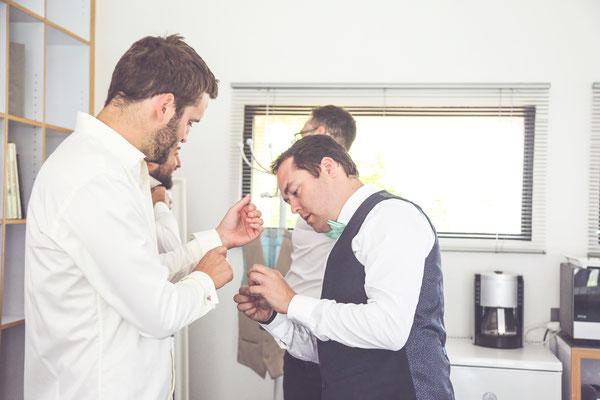 photographe de mariage albi tarn, photos des préparatifs du marié