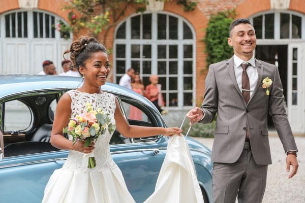 Photographe mariage albi tarn, photo du vin d'honneur
