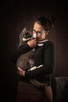 photographe chat studio, séance photo chat studio, portrait chat toulouse, photographe animalier toulouse