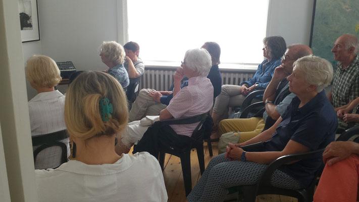 Literarisches Café 22.05.16  Foto: Wolfgang Brammen