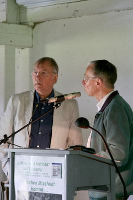 im Bild: Jochen Missfeldt (li) und Wolfgang Brammen (c) Jens Jacobus
