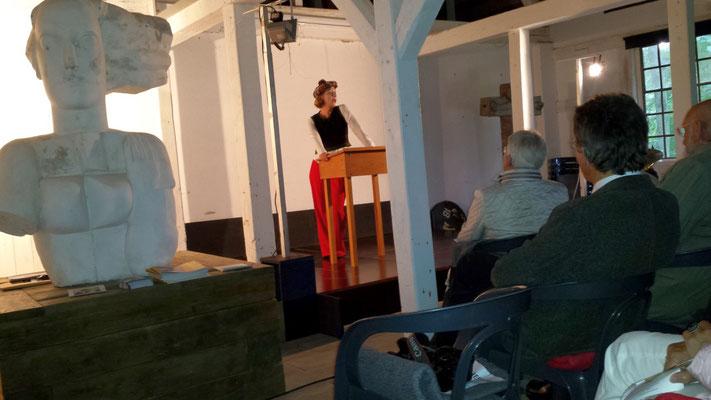 Antonia Gottwald / Valentin-Auftritt Gut Seekamp 17.09.17 / Foto: Wolfgang Brammen
