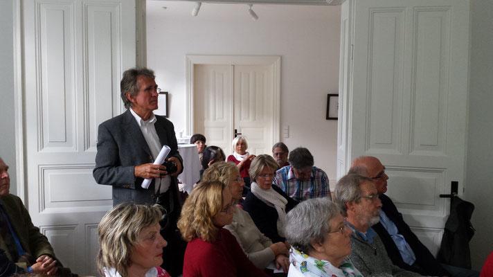 Litererisches Café 2014. Foto: Wolfgang Brammen