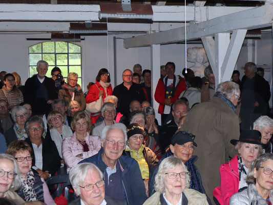 Vernissage Heilwig-Duwe-Ausstellung 26.05.19 Gut Seekamp / Foto: Jens Jacobus