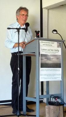Lesung Katja Just Seekamp 02.06.19 / Foto: Rolf Johanning