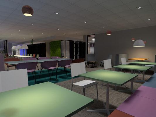 3D animatie lichtplan BinTTec. ©Fuse Elektrotechniek