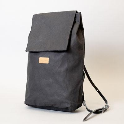 Kleiner Rucksack, schwarz, fair