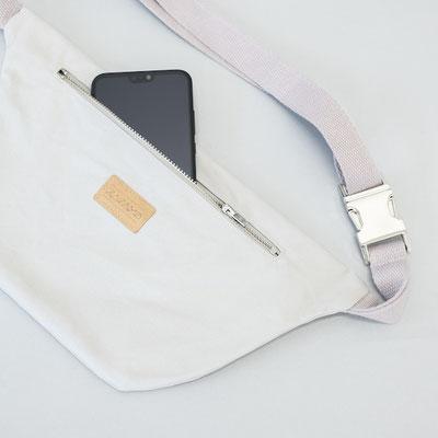 Bauchtasche Ubangi grey - graue Bauchtasche - Tasche - Handtasche - Umhängetasche