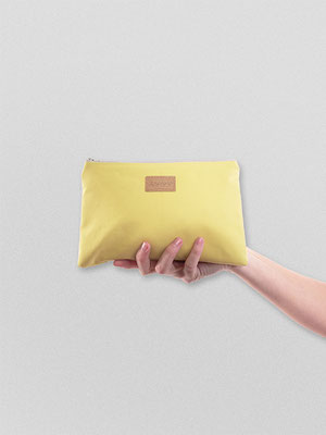 Zacamo - Täschchen yellow - Geldbörse - Geldbeutel gelb