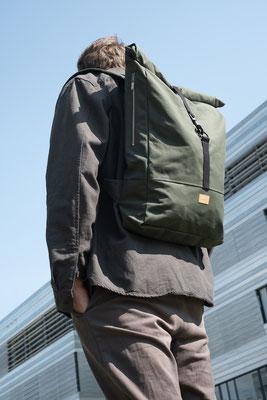 Rucksack gefertigt in Düsseldorf