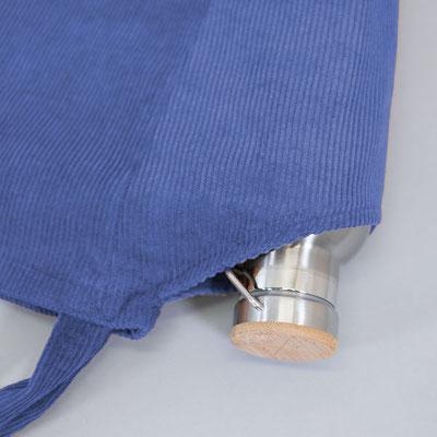 Tote Bag Cord, blau, Zacamo