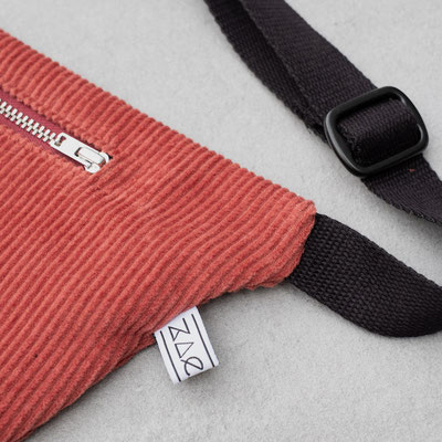 Zacamo - Bauchtasche - Zacamo Tasche - Tasche - Handtasche - Handtasche rot - Bumbag - Umhängetasche -
