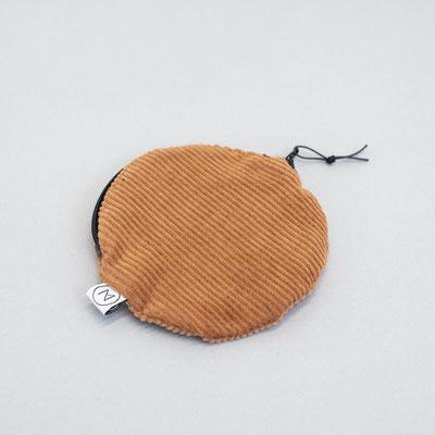 Cord - Kosmetikbeutel - kleines Täschchen - Zacamo - braun
