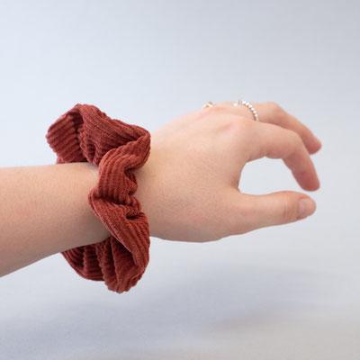 Zacamo - Haarband - Scrunchie - Scrunchies Tulip - Scrunchies - Scrunchie rot - Scrunchie rostrot - rot -rostrot