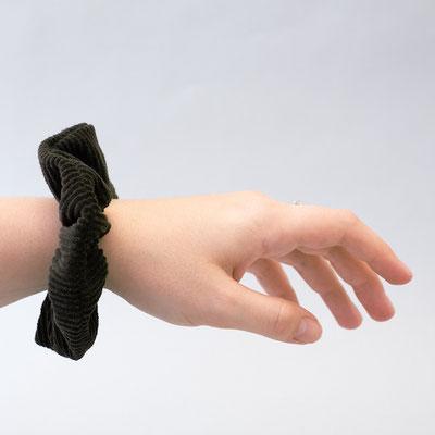 Accessoires grün - flaschengrün - Scrunchies - Scrunchie - Haargummis - Haarbänder - Scrunchie Set
