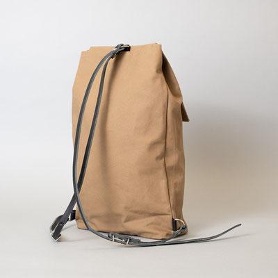 Kleiner Rucksack, braun, fair