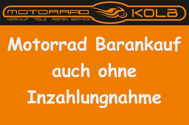 Barankauf Motorrad Kolb