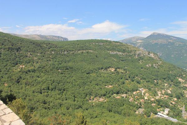 Unterwegs in den wilden Gorges du Loup