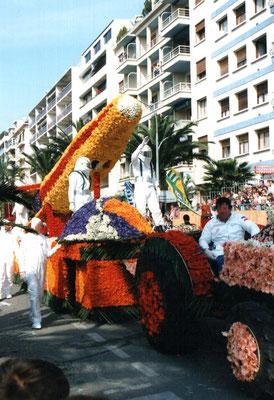Blumenkorso von Hyères 1996