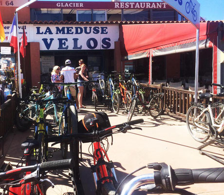 Fahrradverleih auf Porquerolles