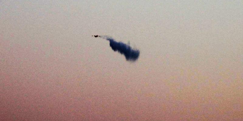 Löschflugzeug im Einsatz