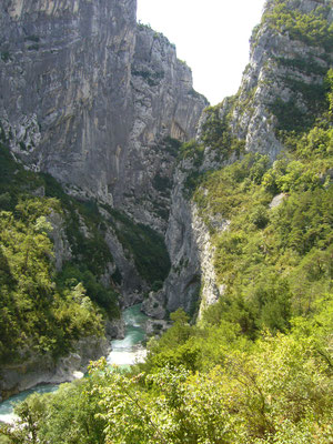 Unterwegs in den Gorges-du-Verdon