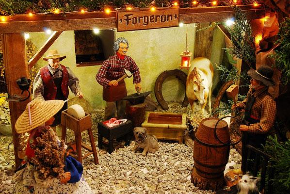 Santans: traditionelle Krippenfiguren aus der Provence
