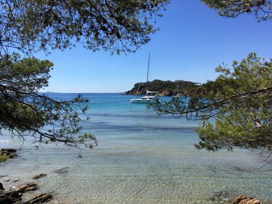 An den Traumstränden der Côte d'Azur