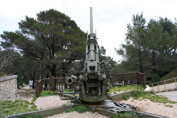 Weltkriegsmuseum auf dem Gipfel des Mont Faron