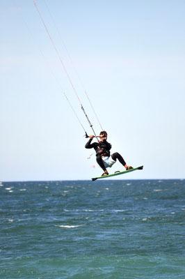 Kite-Surfer in der Bucht von Hyères