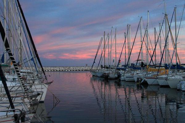 Am Hafen von La Londe
