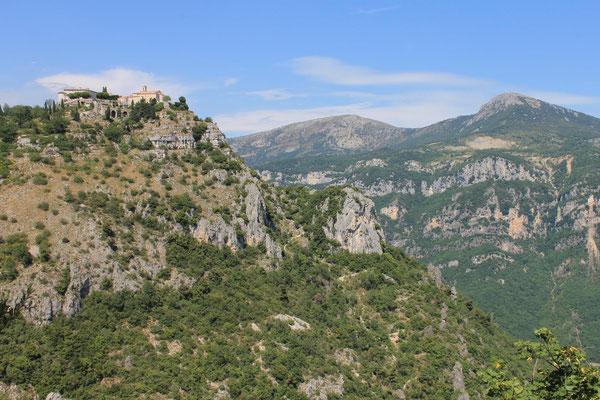 Unterwegs in den Gorges du Loup