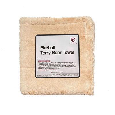 Fireball Terry Bear Towel