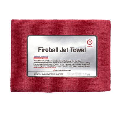 Fireball Jet Towel