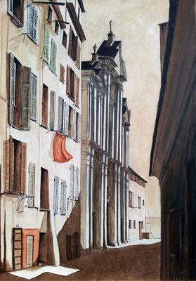 Bastia - Rue Sainte Marie - la Citadelle - 81 x 116 cm